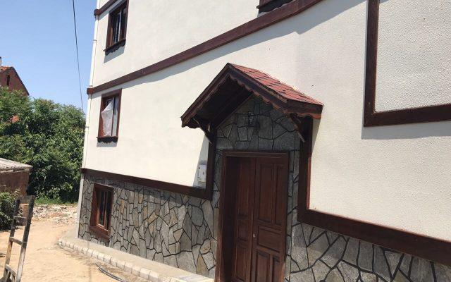 Çalı – Ahşap bina kaplama